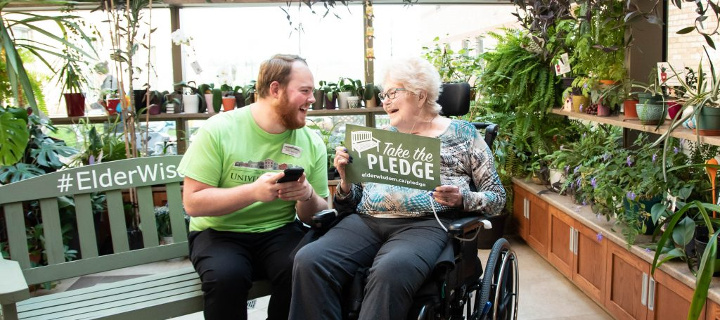 Take the #ElderWisdom pledge